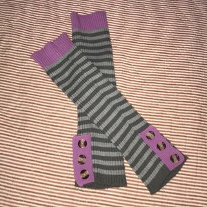 Other - 🌻Grey leg warmers with buttons on the sides